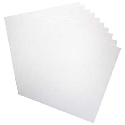 Heartfelt Creations - White Cardstock 12x12 (10 pack)