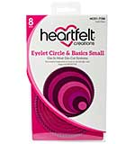 SO: Heartfelt Creations - Eyelet Circle and Basics Small - Cut and Emboss Dies