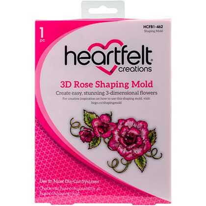 SO: Heartfelt Creations Shaping Mold - 3D Rose