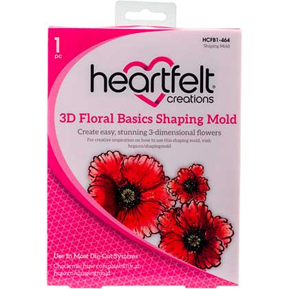 SO: Heartfelt Creations Shaping Mold - 3D Floral Basics