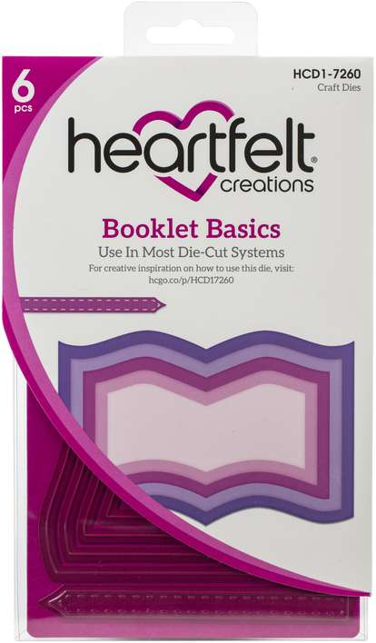 Heartfelt Creations Frame and Accents Dies - Booklet Basics