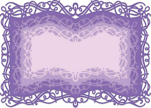 Heartfelt Creations Frame and Accents Dies - Booklet Frames