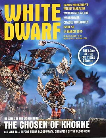 White Dwarf Weekly Magazine Issue 59