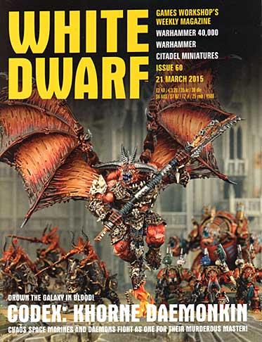 White Dwarf Weekly Magazine Issue 60