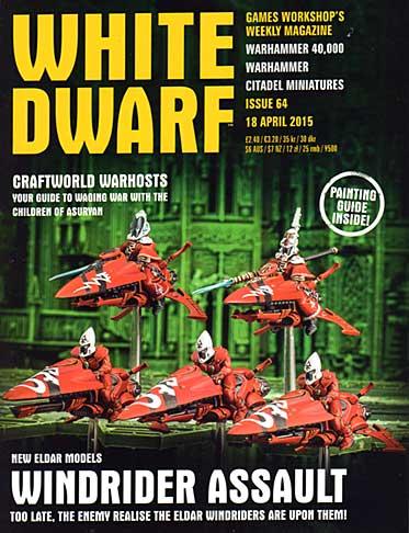 White Dwarf Weekly Magazine Issue 64