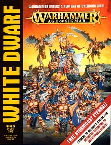 White Dwarf Weekly Magazine Issue 75