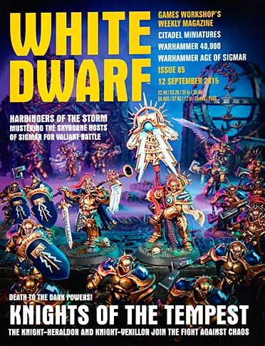 White Dwarf Weekly Magazine Issue 85