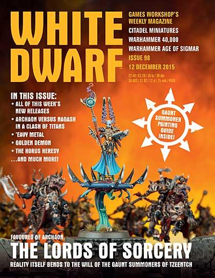 White Dwarf Weekly Magazine Issue 98