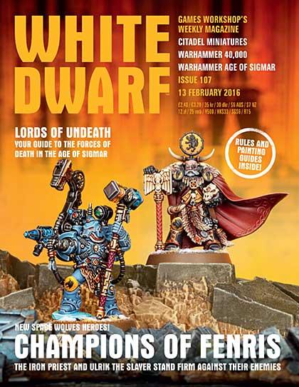 SO: White Dwarf Weekly Magazine Issue 107