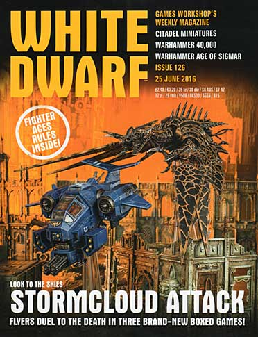 White Dwarf Weekly Magazine Issue 126