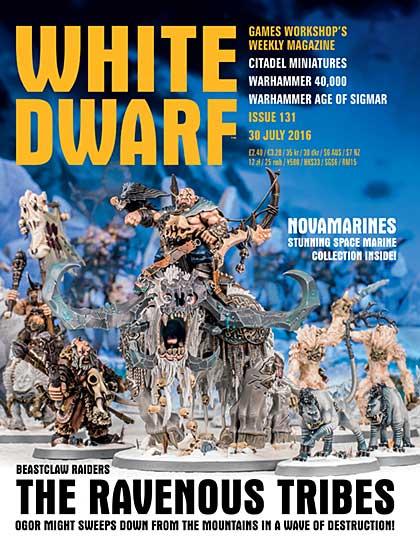 White Dwarf Weekly Magazine Issue 131