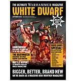 White Dwarf Monthly Magazine Issue #1 September 2016 (Includes Slaughter Preist Model)