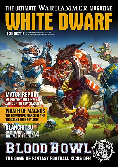 White Dwarf Monthly Magazine Issue #4 December 2016