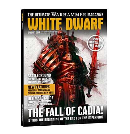 White Dwarf Monthly Magazine Issue #5 January 2017