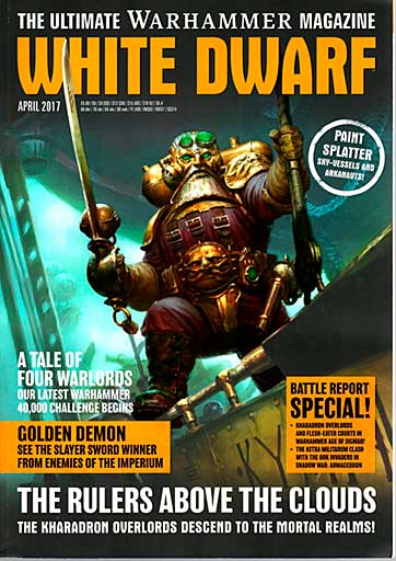 White Dwarf Monthly Magazine Issue #8 April 2017