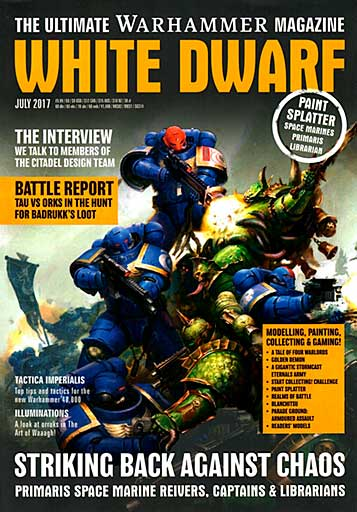 White Dwarf Monthly Magazine Issue #11 July 2017