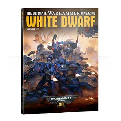 White Dwarf Monthly Magazine Issue #13 September 2017