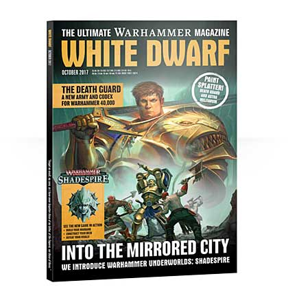 White Dwarf Monthly Magazine Issue #14 October 2017
