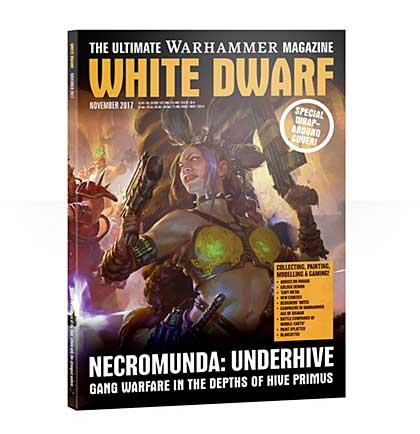 White Dwarf Monthly Magazine Issue #15 November 2017