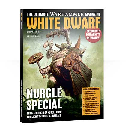 White Dwarf Monthly Magazine Issue #17 January 2018