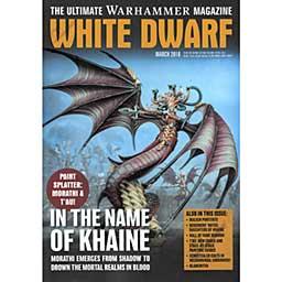 White Dwarf Monthly Magazine Issue #19 March 2018