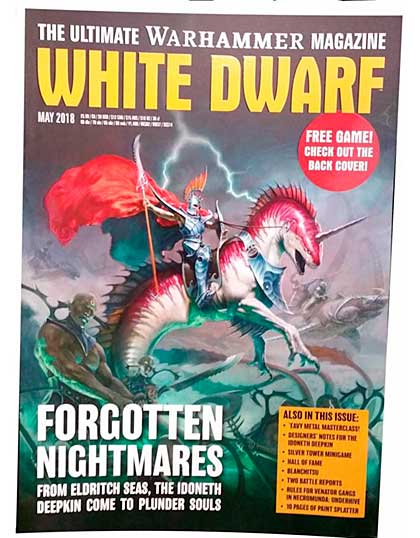 White Dwarf Monthly Magazine Issue #21 May 2018