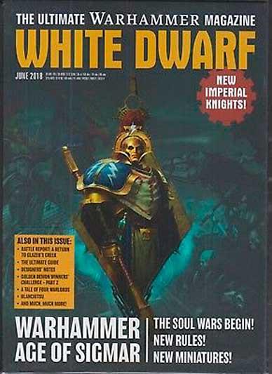 White Dwarf Monthly Magazine Issue #22 June 2018