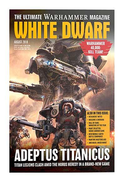 White Dwarf Monthly Magazine Issue #24 August 2018