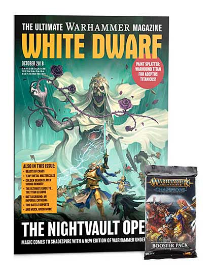 White Dwarf Monthly Magazine Issue #26 October 2018
