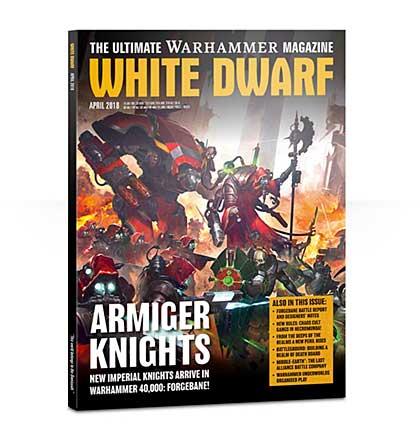 White Dwarf Monthly Magazine Issue #20 April 2018