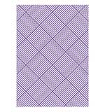 Emboss Folder The Ambassador Collection Grand Woven (Couture Creations)