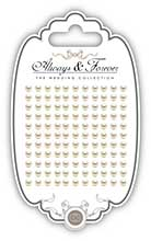 Always and Forever -  Self Adhesive Pearls - 5mm