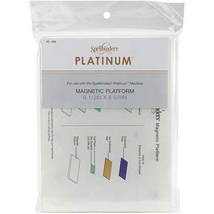 Spellbinders Platinum - Magnetic Platform - Standard