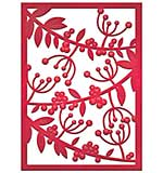 SO: Spellbinders Card Creator Die - Mistletoe Card Front