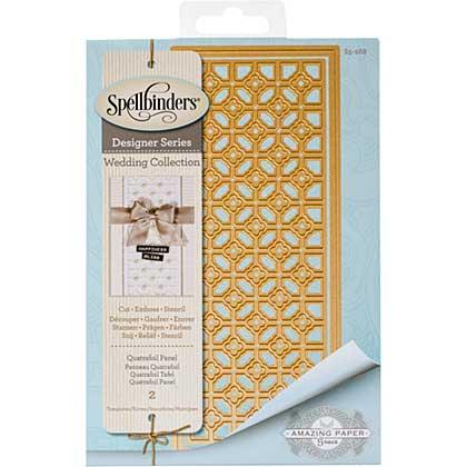 Spellbinders Shapeabilities Dies - Quatrafoil Panel