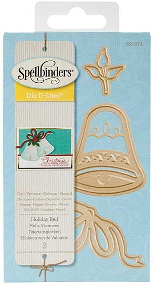 Spellbinders Shapeabilities Die D-Lites - Holiday Bell