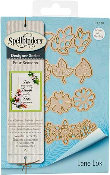 Spellbinders Shapeabilities Dies - Four Seasons - Wreath Elements (Lene Lok)