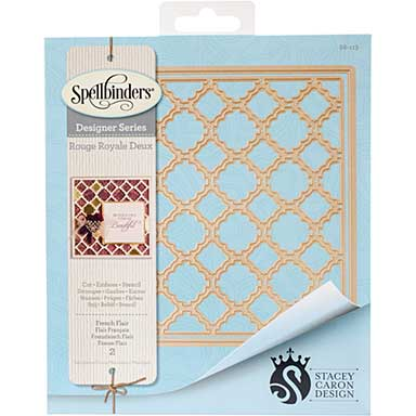 Spellbinders Card Creator Die - French Flair (Stacey Caron)