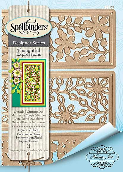 Spellbinders Shapeabilities Dies - Thoughtful Expressions - Layers Of Flowers (Marisa Job)