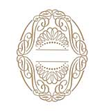 Spellbinders Glimmer Hot Foil Plates Elegant Oval