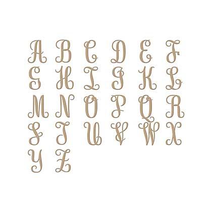Spellbinders Glimmer Hot Foil Plates Elegant Monograms