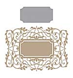 Spellbinders Glimmer Hot Foil Plate Gilded Vines
