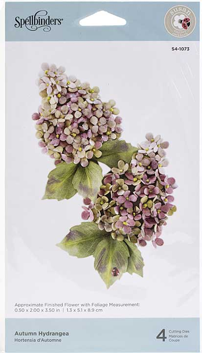 Spellbinders Autumn Flora Dies - Autumn Hydrangea - by Susan Tierney-Cockburn