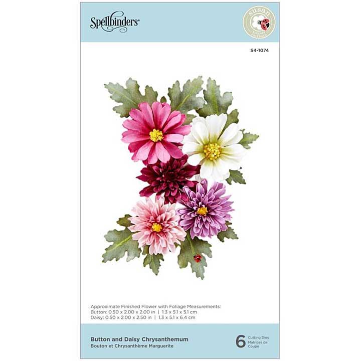 Spellbinders Autumn Flora Dies - Chrysanthemum - by Susan Tierney-Cockburn