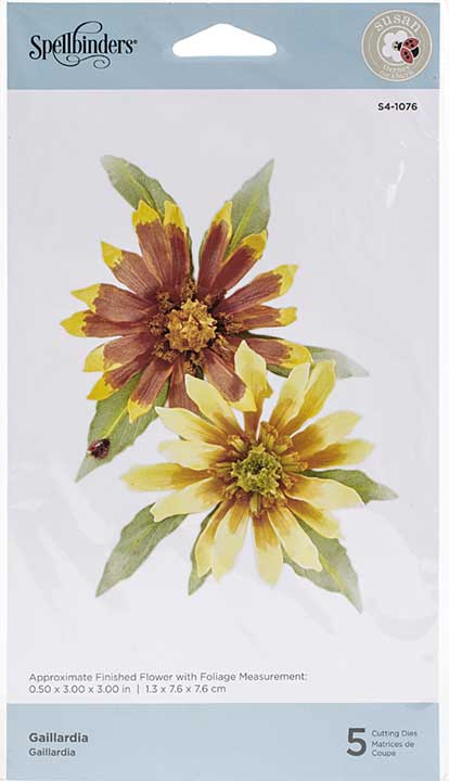 Spellbinders Autumn Flora Dies - Gaillardia - by Susan Tierney-Cockburn