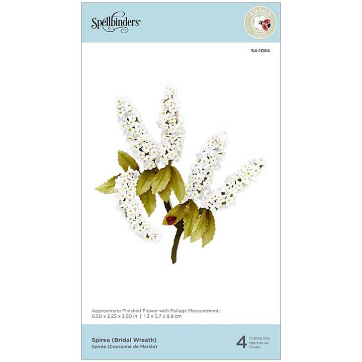 SO: Spellbinders Spring Flora Dies - Spirea (Bridal Wreath) - by Susan Tierney-Cockburn