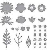 SO: Spellbinders Etched Dies - Simply Perfect Layered Blooms