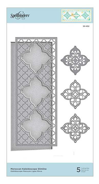 SO: Spellbinders Etched Dies - Moroccan Kaleidoscope Slimline