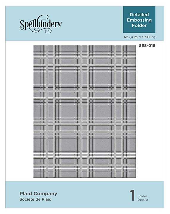 Spellbinders Embossing Folder - Plaid Company