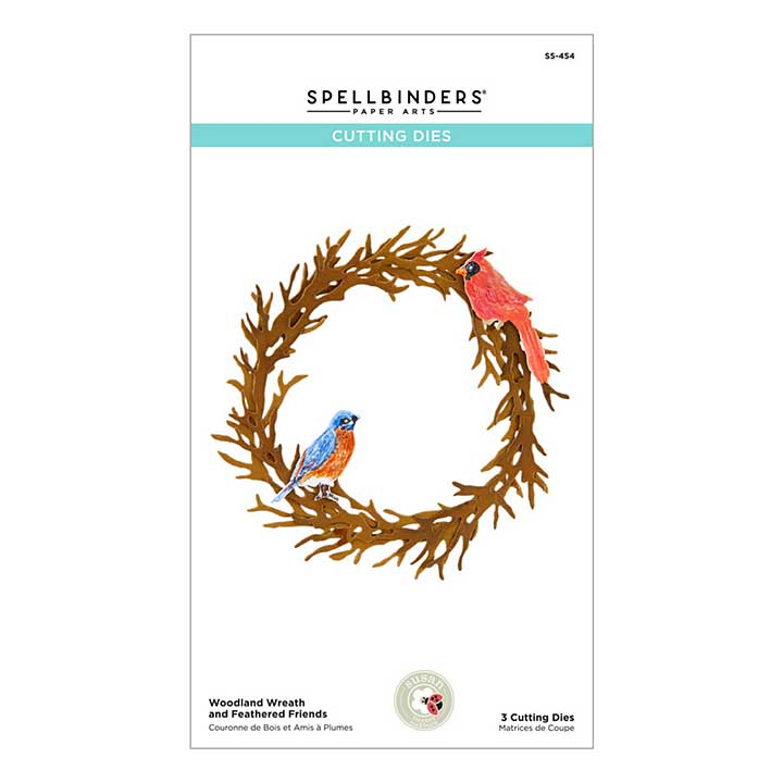 Holiday Flora Woodland Wreath and Feathered Friends - by Susan Tierney-Cockburn